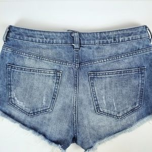 H&M Shorts - H&M Divided distressed demin shorts